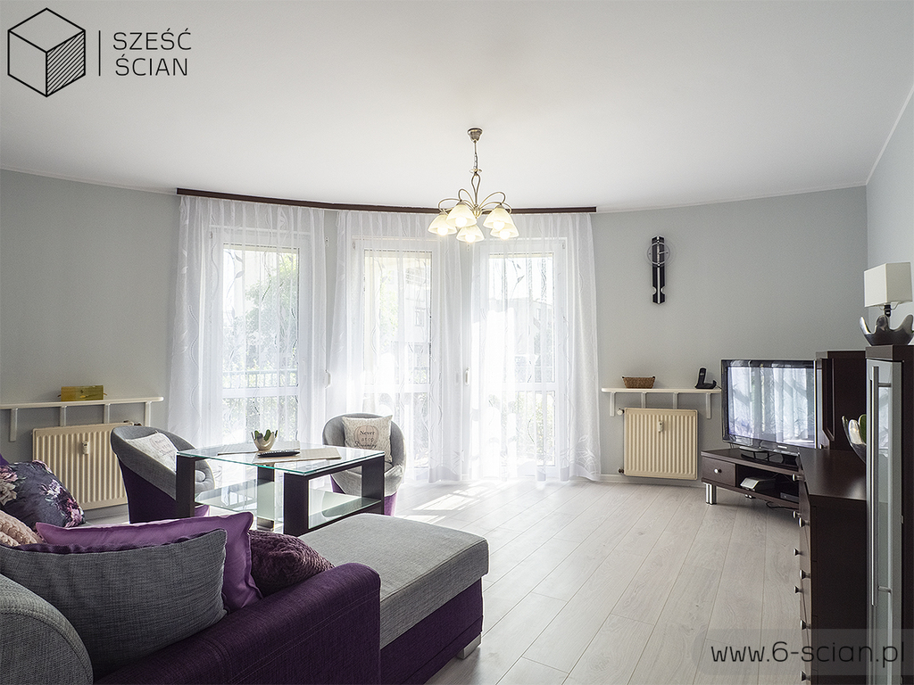 Mieszkanie 3-pok|komórka|balkon|garaż|rozkład