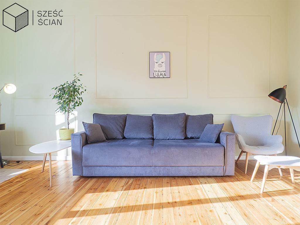 Mieszkanie 3-pok | rozkład | głogowska | balkon