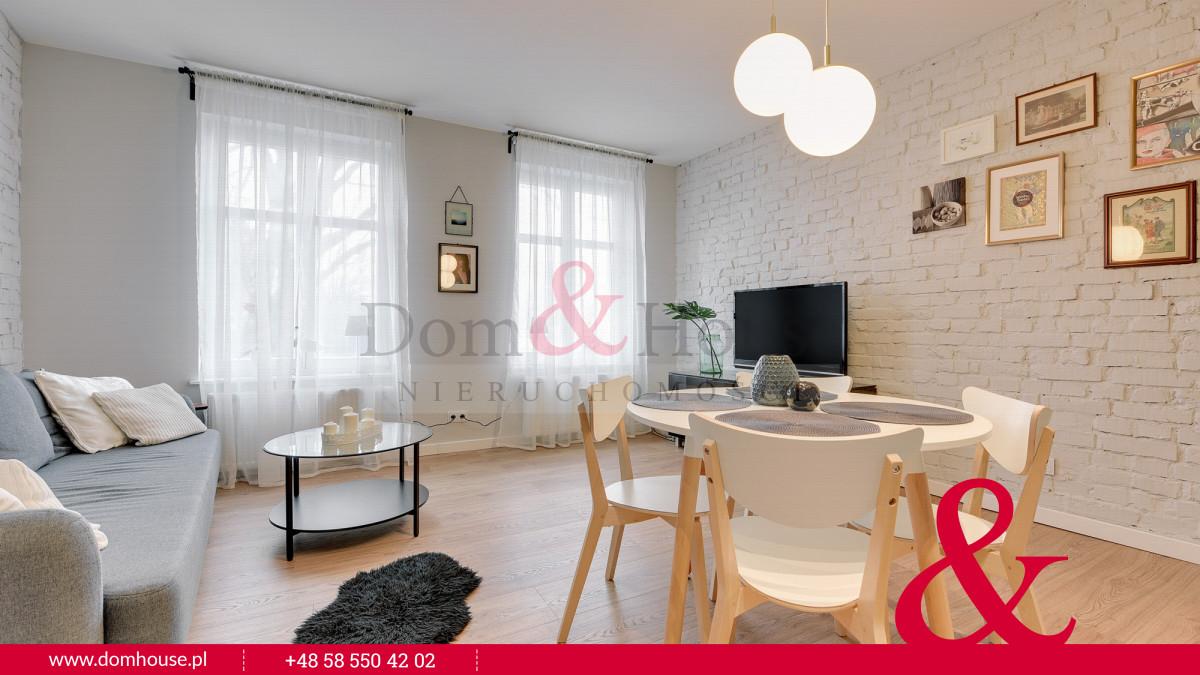 Wynajem sopot, ul. karlikowska, 2 pokoje,styl loft