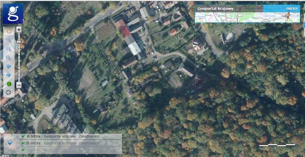 Działka żydowce 1.4801 ha