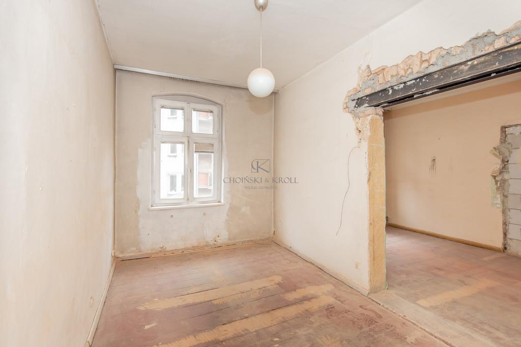 2-pokojowe mieszkanie do generalnego remontu