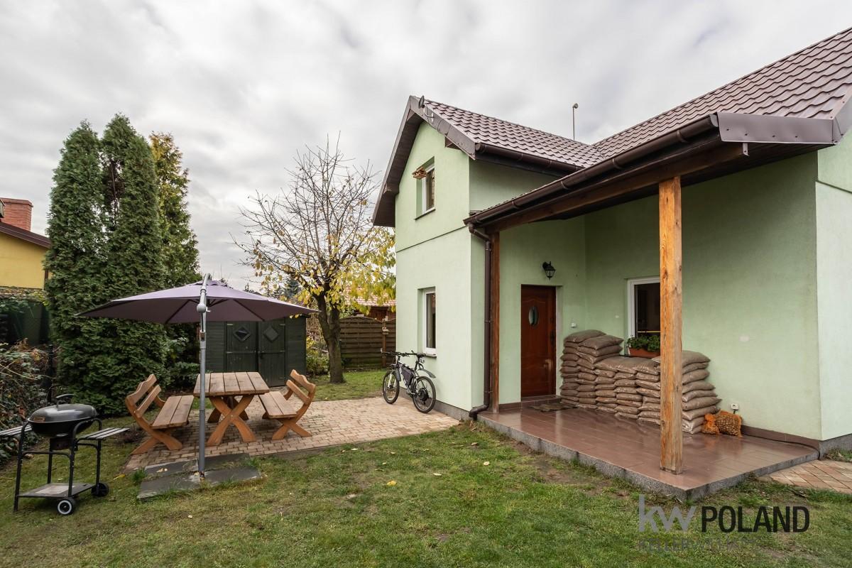 Wolnostojący dom w gruszczynie