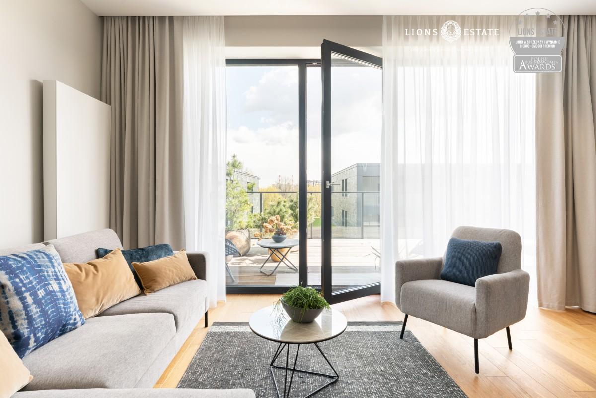 Luksusowy apartament nad prywatnym stawem