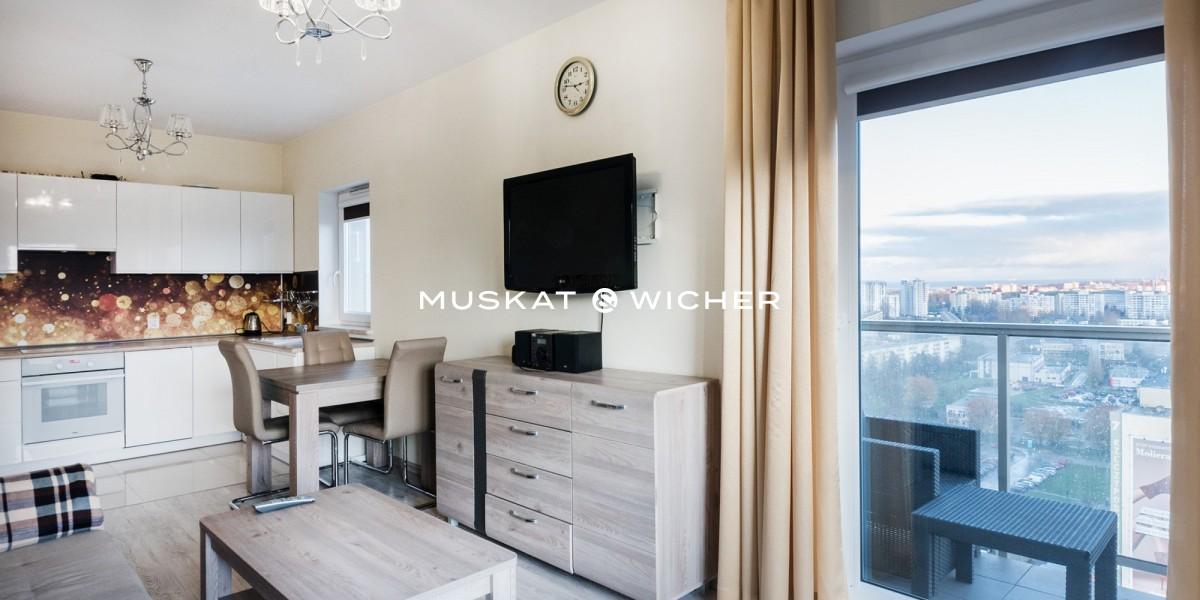 Dwupokojowy apartament z tarasem na przymorzu !!!