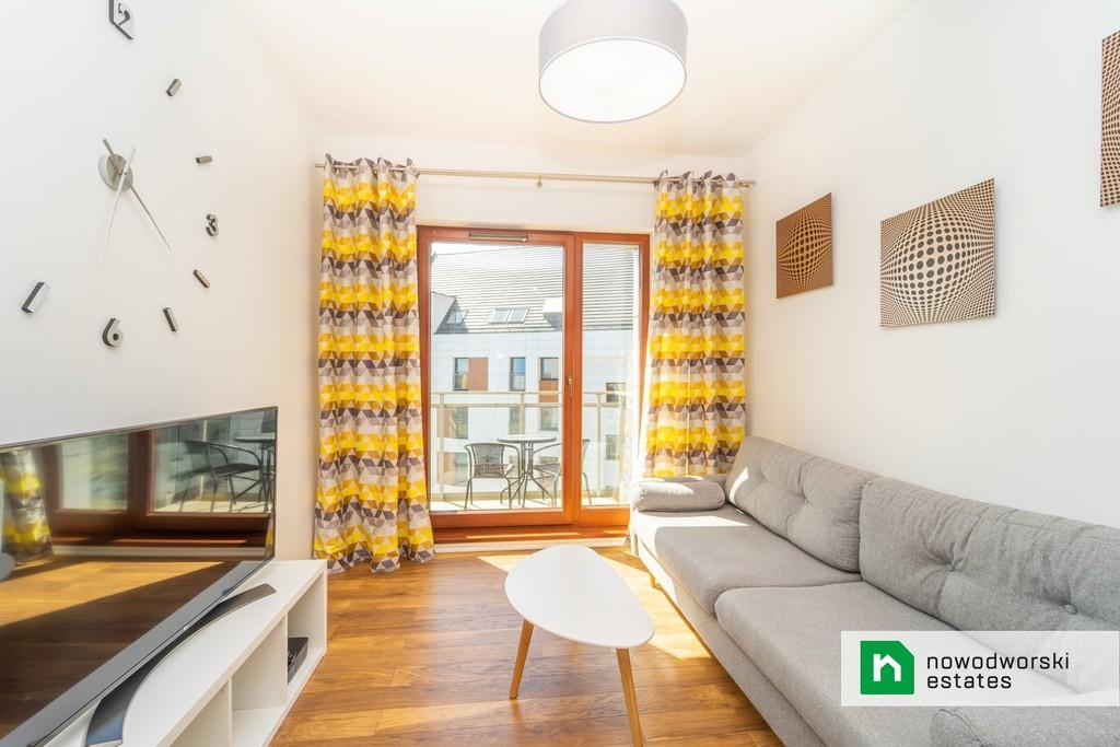 Słoneczny 2-pok. apartament w gdańskim śródmieściu