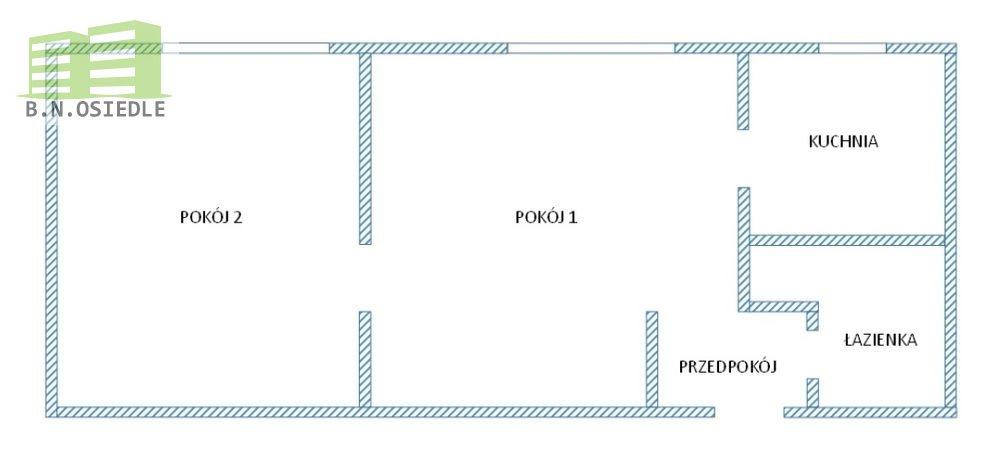 2 pokoje 34 m2 śródmieście ul. struga!