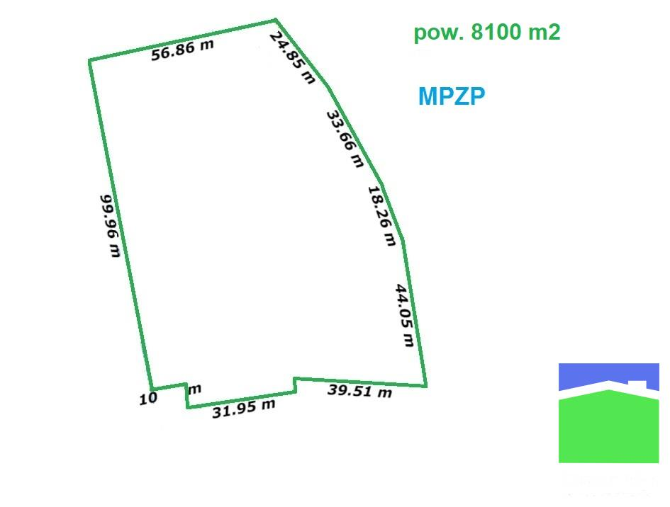 Widzew - działka o pow. 8100 m2 mpzp
