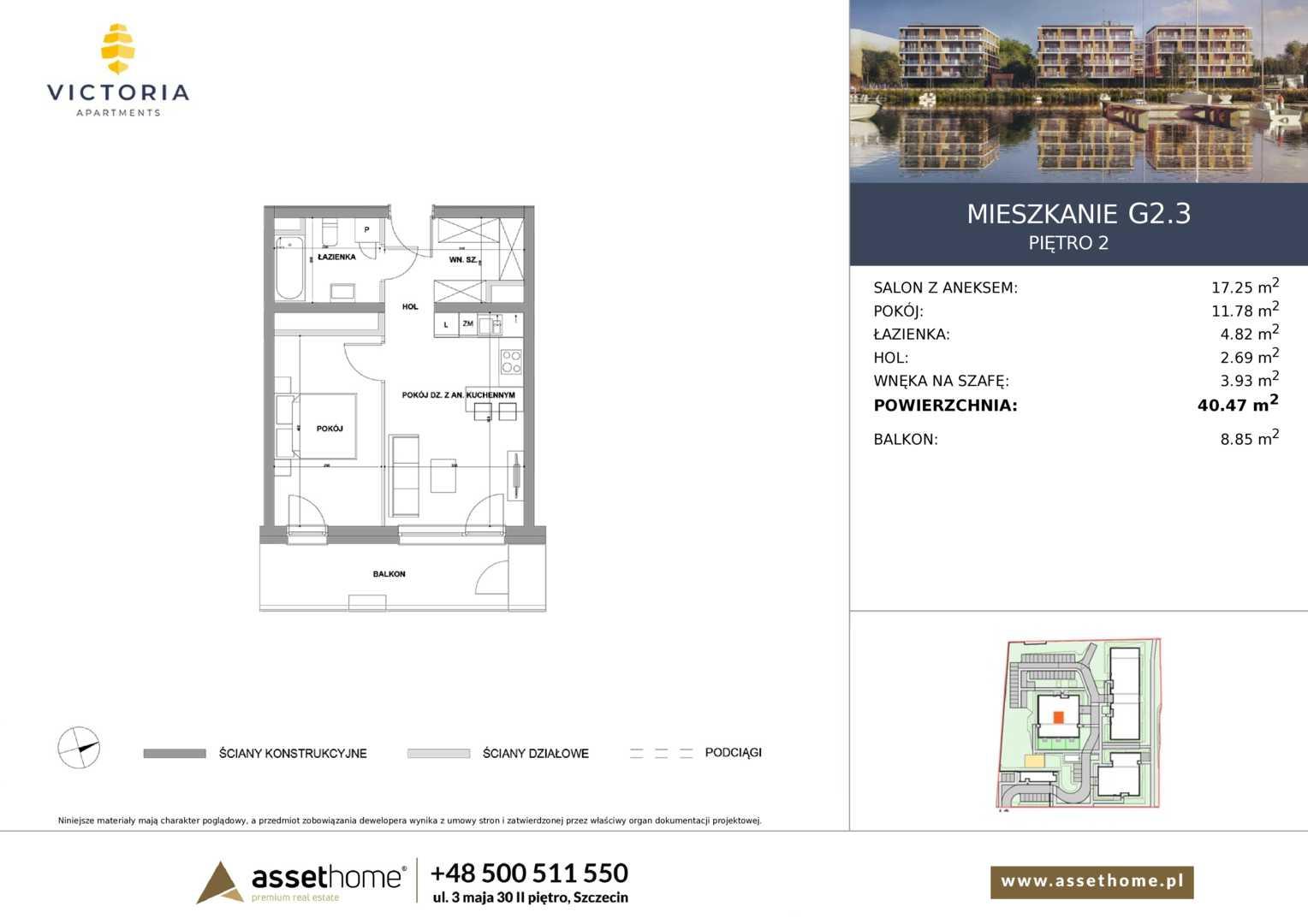 Mieszkanie w inwestycji: Victoria Apartments