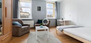 Dwupokojowe mieszkanie dla rodziny i studentów