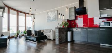 Widokowy apartament z tarasem, krowodrza 60m2