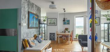 Słoneczny apartament z  dużym tarasem - 50 m2