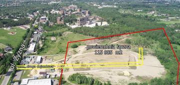 Duży teren przemysłowy u/p3 ul. żyzna
