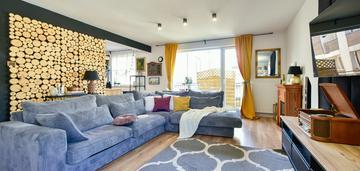 Dwupoziomowe mieszkanie - ogródek -wysoki standard