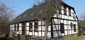 Dom ryglowy w szczecińskich jezierzycach