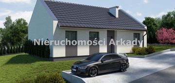 Nowe parterowe domy jednorodzinne - świerklany