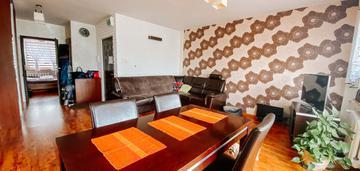 3 pokoje 59,50 m2 duży balkon