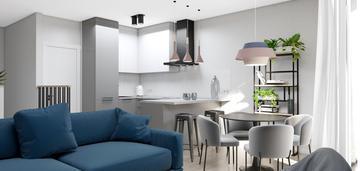 Nowe dwupoziomowe mieszkanie - w pełni wyposażone