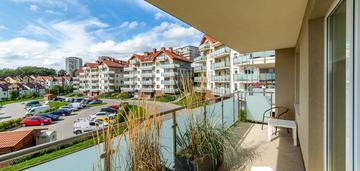 Przytulne i słoneczne 2 pok. z dużym balkonem