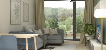 Nowy apartament o stylowych wanętrzach w wilanowie