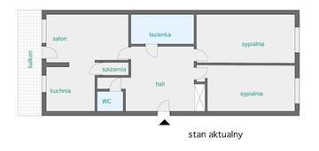 Bardzo ładne mieszkanie w górze kalwarii - 93 m2