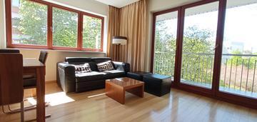 2-pokojowe, duży balkon, wysoki standard, mokotów