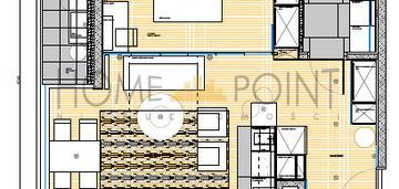 2 pokoje z dużym balkonem, nowe budownictwo