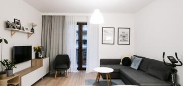 Funkcjonalne mieszkanie w okolicach wisły, 48 m2