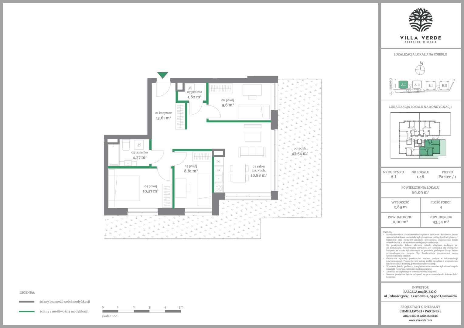 Mieszkanie w inwestycji: Villa Verde