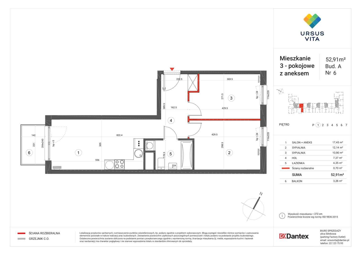 Mieszkanie w inwestycji: Ursus Vita