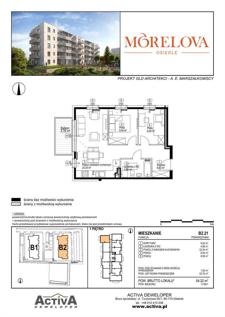 Mieszkanie w inwestycji: Morelova