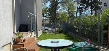 Pogodno, mieszkanie z ogrodem i m. garażowym