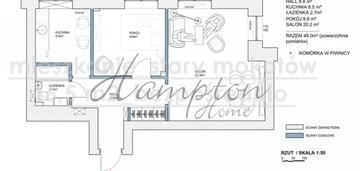 Mieszkanie 2 pokojowe stary mokotów