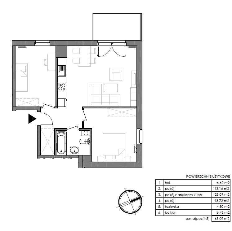 Mieszkanie w inwestycji: Signum