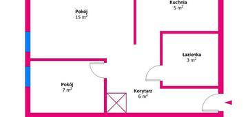 Rezerwacja mieszkanie 2pok. w łowiczu do aranżacji