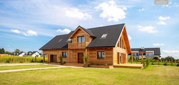 Wyjątkowy dom jednorodzinny w laszczkach