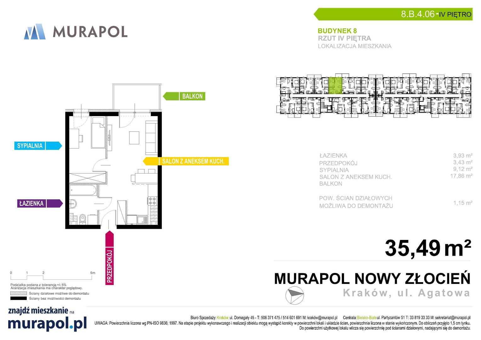 Mieszkanie w inwestycji: Murapol Nowy Złocień