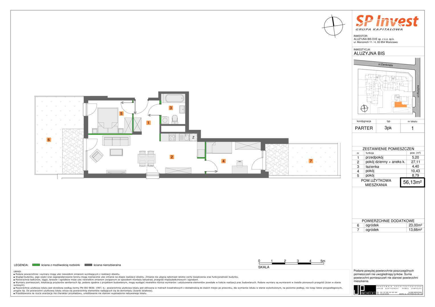 Mieszkanie w inwestycji: Aluzyjna 21