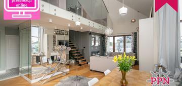 Przepiękny loft w stylu glamour.