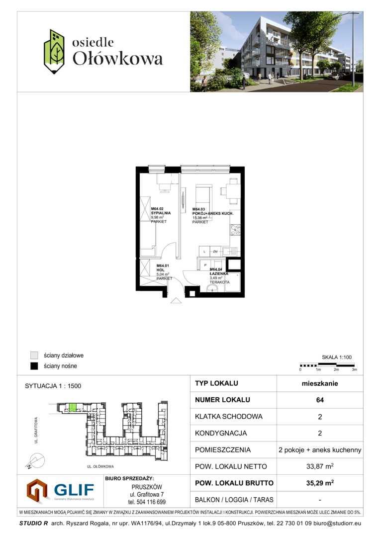 Mieszkanie w inwestycji: Osiedle Ołówkowa