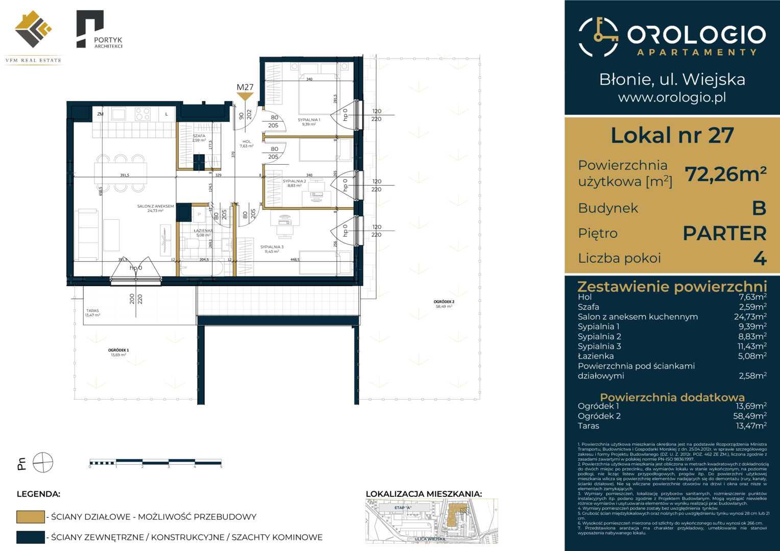 Mieszkanie w inwestycji: Orologio Apartamenty