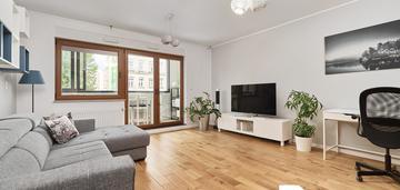 Przestronne 2-pokojowe mieszkanie z loggią