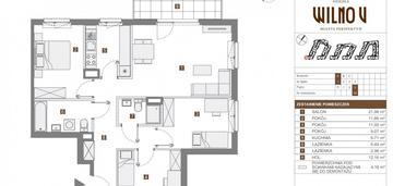 Sprzedam tanio 4 pokoje 85 m2 na wilnie