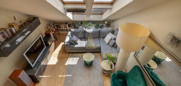 Apartament typu loft na kabatach