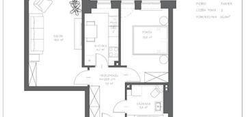 Mieszkanie dwu-pokojowe mokotów
