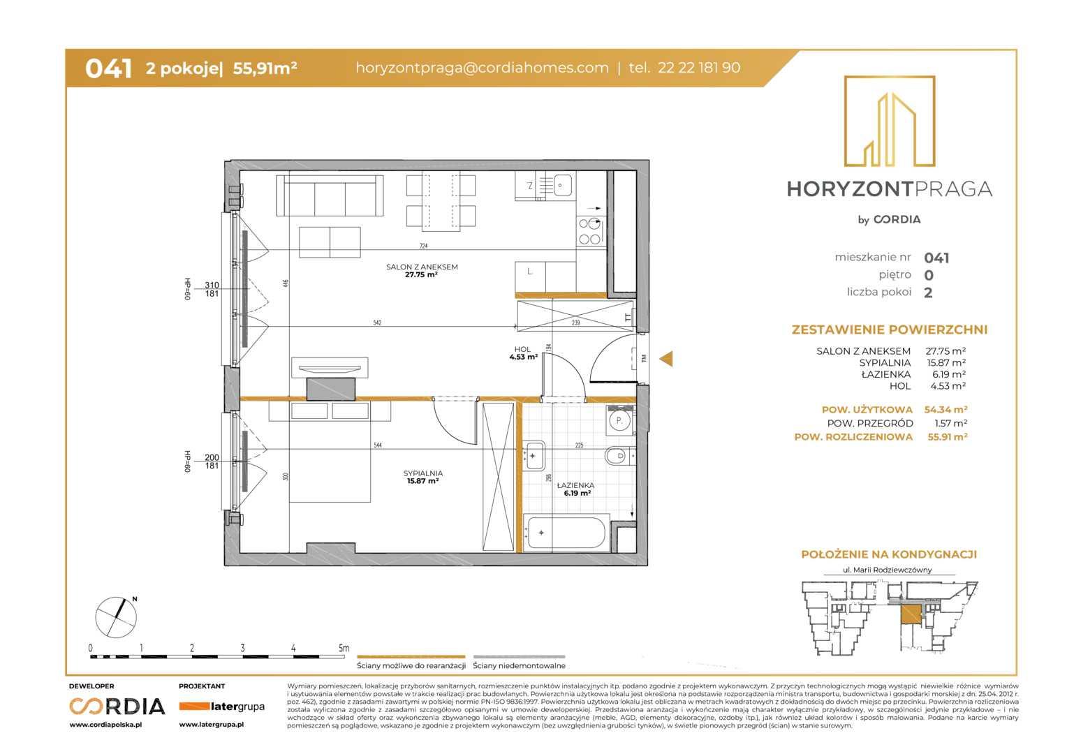 Mieszkanie w inwestycji: Horyzont Praga