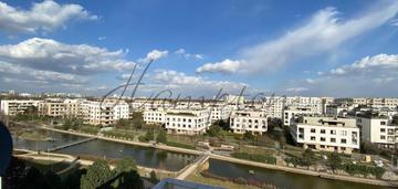 Marina mokotów top floor widok na jeziorko