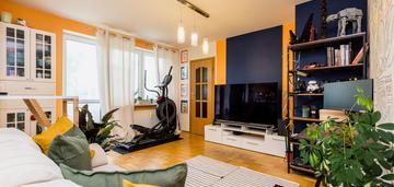 2 poziomowe mieszkanie/ ursynów/ 93m2 z ogródkiem