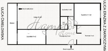 Atrakcyjne mieszkanie 3 pokojowe białołęka