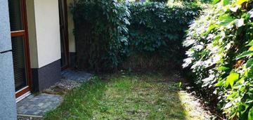 Atrakcyjne mieszkanie z ogrodem na wilanowie