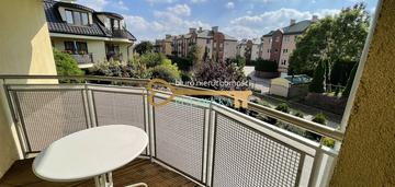 70 m2, dwa balkony, garaż podziemny, cicha okolica